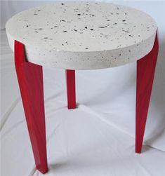 Elegante mesa de Concreto