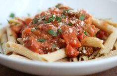 The Healthy Table: Roast some veggies and make a zesty Bolognese sauce