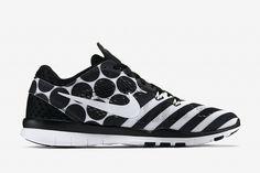 "Nike WMNS Free TR 5 Print ""Black & White"""