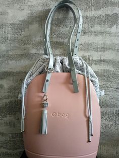 Obag phard and grey O Bag, Diy Bags, Shopping Bags, Pure Silk, Hand Bags, Leather Backpack, Purses And Bags, Pouch, Girly