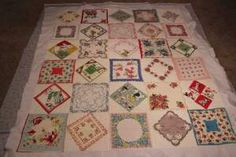 vintage hankies...I didn't mean to collect these, but for some reason I have quite a few.