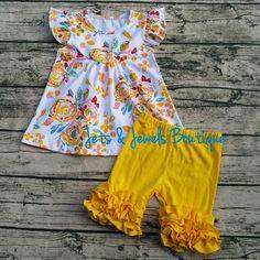 edbe2255aa18 Boutique Dresses, Boutique Clothing, Clothing Sets, Flutter Sleeve, Ruffle  Sleeve, Yellow