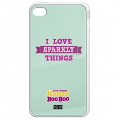 Here Comes Honey Boo Boo Sparkly Things Phone Case... If it were only pink!