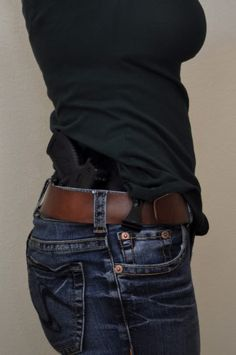Concealed Carry Outfits For Women: My husband would LOVE if I had a need for this pin.