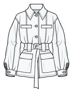 Gaby Consuelo Cornejo Cardenas's media content and analytics Fashion Design Sketchbook, Fashion Design Portfolio, Fashion Illustration Sketches, Fashion Design Drawings, Fashion Sketches, Drawing Fashion, Design Illustrations, Flat Drawings, Technical Drawings