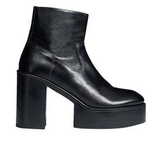 This season's catwalk footwear for men puts a welcome, out-there take on the mundane boots most guys trudge about in Catwalk Footwear, Body Adornment, Men's Shoes, Booty, Platforms, Heels, Sexy, Fashion, Heel