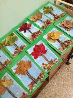 Bricolage automne maternelle Kids Crafts diy craft kits for kids Kids Crafts, Fall Crafts For Kids, Tree Crafts, Craft Projects, Craft Ideas, Autumn Art Ideas For Kids, Preschool Fall Crafts, Fall Activities For Kids, Craft Kits