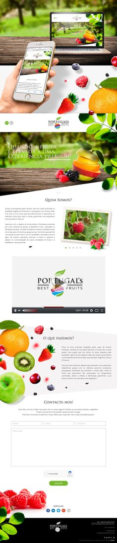 PORTFOLIO WEBSITE PORTUGALBESTFRUITS