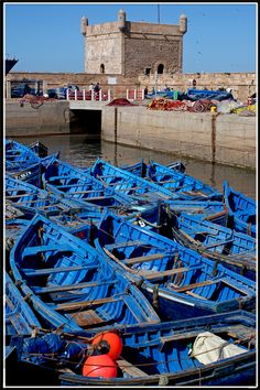blue harbour of Essaouira