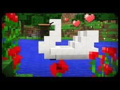 My Boats Plans - ✔ Minecraft: How to make a Swan Boat Master Boat Builder with 31 Years of Experience Finally Releases Archive Of 518 Illustrated, Step-By-Step Boat Plans Easy Minecraft Houses, Minecraft City, Minecraft Room, Minecraft Plans, Minecraft House Designs, Minecraft Decorations, Minecraft Construction, Amazing Minecraft, Minecraft Tutorial