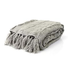 Beautiful range of blankets at Dunelm. Extensive range of throws, childrens blankets, and bed blankets available to buy online and in store today. White Lounge, Cable Knit Throw, Snug, House Design, Blanket, House Styles, Lounge Ideas, Home Decor, Sunroom