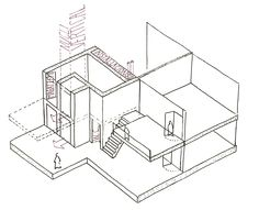 Dibujo módulos ascensores
