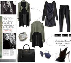 """""""Olsen Twins Style # 1"""" by latoyacl on Polyvore... Todo muy chulo, pero de esos tacones yo me caigo... :-///"""
