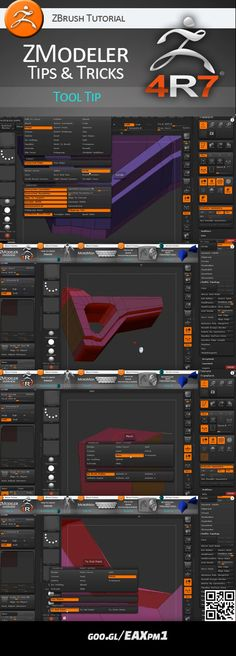 ZModeler ZBrush tips and tricks. Video tutorial. #zbrush #tutorial #video #zmodeler #tips #tricks