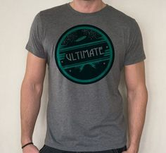 Ultimate Frisbee T-shirt on Behance