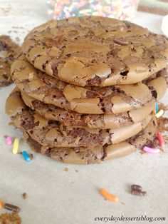 Everyday Desserts: Brownie Cookies #cookierecipes