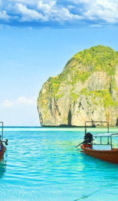 Maya Bay, Koh Phi Phi Leh Island, Thailand. Got my toes in the water, ass in the sand. Not a worry in the world just a drink in my hand, yeah life is good today.