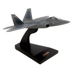 USAF Lockheed Boeing F-22 Raptor Desk Display Model 1//48 Jet Plane MC Airplane