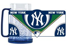 NEW YORK YANKEES CRYSTAL MUGS