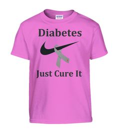 Diabetes Just Cure It Youth Shirts