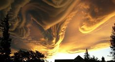 Clouds over New Zealand