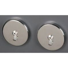 """Harbor Freight Tools Set of 2 Magnetic Decor Hooks by Harbor Freight Tools. $6.99. Useful for any household, shop, or workspace! Pack of four magnetic hooks. Overall dimensions: 1-3/8"""" diameter x 1-1/8"""" L"""
