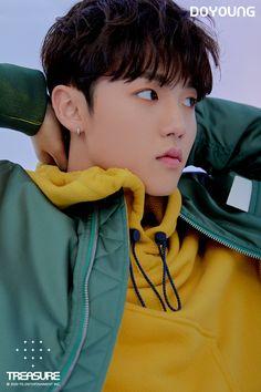 editorial vol 2 Yg Entertainment, Lirik Lagu Treasure, Yoshi, Hyun Suk, Fandom, Korean Boy Bands, Vol 2, Chapter One, Treasure Boxes
