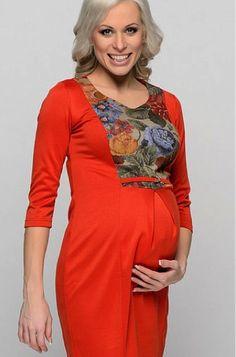 Vestidos patrón para embarazadas | Patterns lecciones en línea y el modelado