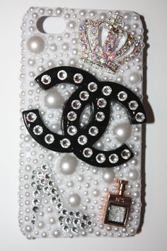 'Princess In Heels' and 'Rose Gold Perfume' Swarovski Crystal iPhone Case .:JuSt*!N*cAsE:.