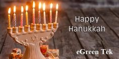 Wishing you & your family a happy Hanukkah.  May the eight-day Festival of Lights be a wonderful celebration.