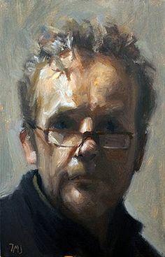 PORTRAITS OF PAINTERS: Julian Merrow-Smith