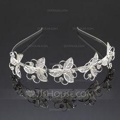 Fashion Rhinestone/Alloy Headbands (042059928)