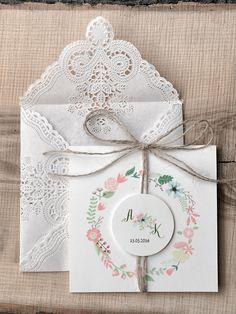 zaproszenia 18/rst/z #decorisus #decoris #zaproszeniaslubne #zaproszenianaslub #zaproszenia #weddings #wedding #slub #wesele #ecochic #koronka #sznurek #rustic #bridetobo #ecru #motywprzewodni #kolor #papeteriaslubna #papeteria #pomysly #bridal #pannamloda #sznurek #pastele #rustykalnystyl #rustic #boho