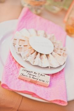 place a jenga tile at each place setting as a guestbook! // design by MorganGalloEvents.com // photo by AliciaGinesPhotography.com