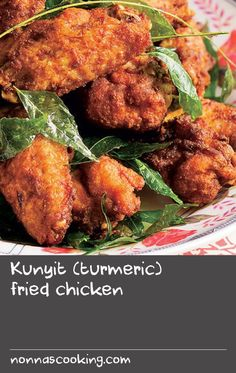 "Kunyit (turmeric) fried chicken | ""This Malaysian favourite is ridiculously simple to put together. It's excellent as a casual starter or finger food and makes a superb beer snack. I must warn you to smack away any greedy fingers lurking around when you cook it up or you might find your portions somewhat dwindled!"" Poh Ling Yeow, Poh & Co."