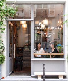Cafe Shop Design, Coffee Shop Interior Design, Small Cafe Design, Restaurant Interior Design, Bakery Design, Cozy Coffee Shop, Small Coffee Shop, Paris Coffee Shop, Coffee Coffee