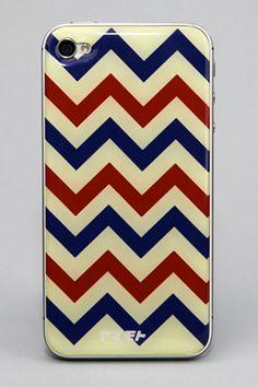 Chevron Epoxy Gel Skins iPhone Cover.