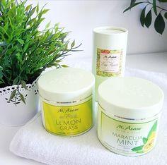"""Produkttest – M.Asam """"Lemon Grass"""" Peeling, """"Maracuja Mint"""" Body Creme und """"Eau Fleurie"""" Parfum"""