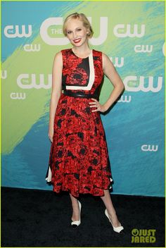 Candice Accola at CW Upfront 2016