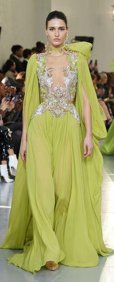Elie Saab Spring 2020 Couture Fashion Show Elie Saab Spring, Party Fashion, Fashion Show, Women's Fashion, Couture Dresses, Fashion Dresses, Elie Saab Couture, Spring Couture, Couture 2015