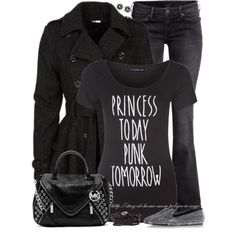 """Princess Today, Punk Tomorrow"" by stay-at-home-mom on Polyvore"