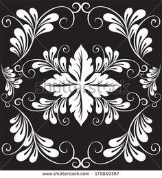 floral seamless pattern for design. Vector Illustration