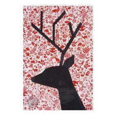 Reindeer Paper Pieced Block Pattern