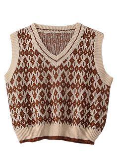 Vintage vest  Women vest  Pearl buttons  Ocher vest  Metal zipper