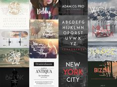 Everyone loves free fonts, but finding high quality typefaces within the sea of amateur display fonts can be quite a challenge. I've been searching the social profiles of designers and typographers directly to find the hidden gems that aren't featured on the popular free font aggregators. I narrowed 170 fonts down to 60 after weeding …