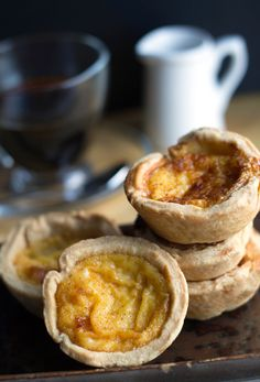 Custard Tarts - Erren's Kitchen - This indulgent tart has a buttery crust and a creamy filling that's simply topped with nutmeg - it's no wonder this dish is a British classic.
