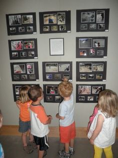 I would love to give the children the camera and display their work in a way that truly honours their work.