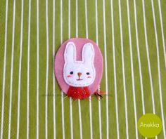 #bunny #felt #brooch