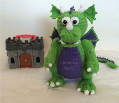 PDF Pattern: Cedric the Dragon **Crochet pattern only, not actual doll!**