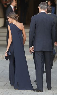 a4015fe6adf5 Queen Letizia of Spain just stepped out in the most stunning jumpsuit and  we are in awe